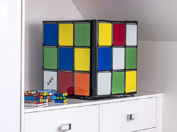 Husky HU231 Rubiks Cube Table Top Fridge