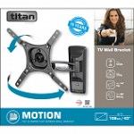Titan by Vivanco BMO 8020 Motion TV Wall Mount Bracket 43""
