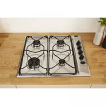 Indesit PAA642IXI Gas Stainless Steel Hob