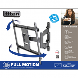 Titan by Vivanco BFMO 8040 Full Motion Tv Wall Bracket 55""