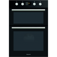 Hotpoint DD2844CBL Black Double Oven