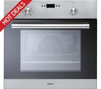 Hotpoint FU5Y0IXH Stainless Steel Single Fan Oven