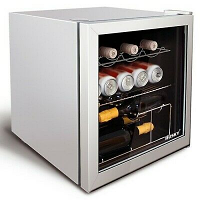 Husky HU281 Silver Table Top Drinks Cooler