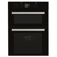 Indesit IDD6340BL Black Double Oven