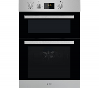 Indesit IDD6340IX Stainless Steel Double Oven