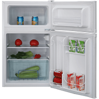 Iceking IK2023W Top Mount Undercounter Fridge Freezer