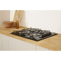 Indesit PAA642IBK Black Gas Hob