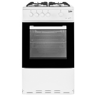 Beko KSG580W Single Gas Cooker