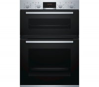 Bosch MBS533BS0B Serie 4 Stainless Steel Double Oven