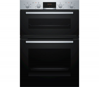 Bosch MHA133BR0B Serie 2 Stainless Steel Built In Double Oven