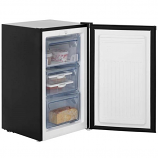 Fridgemaster MUZ4965B Black Undercounter Freezer