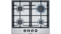 Bosch PCP6A5B90 60cm Stainless Steel Gas Hob Serie 6