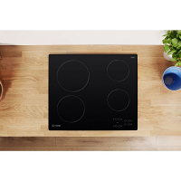 Indesit RI161C 60cm Black Ceramic Hob
