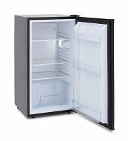 Iceking RL114BK Black Larder Fridge