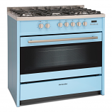 Montpellier MR95DFPB Dual Fuel Range Cooker