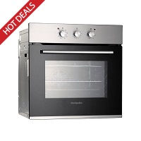 Montpellier SFO65MX Stainless Steel Single Fan Oven