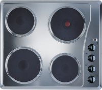 Indesit TI60X Stainless Steel Solid Plate Hob